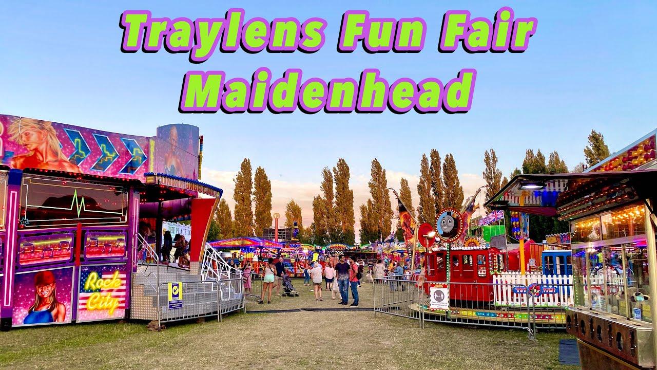 Traylens Fun Fair Maidenhead Vlog 1st August 2020