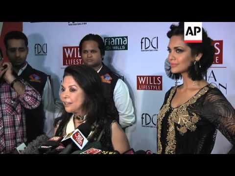 Designer Ritu Kumar closes Wills Lifestyle India fashion week