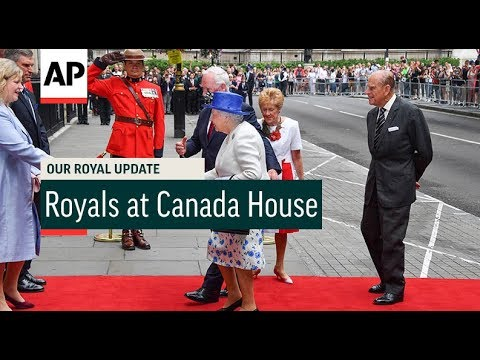 Royals Visits Canada House - 2017 | Our Royal Update # 43