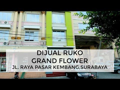 Dijual Ruko Grand Flower, Jl. Pasar Kembang, Surabaya | Tags Properti