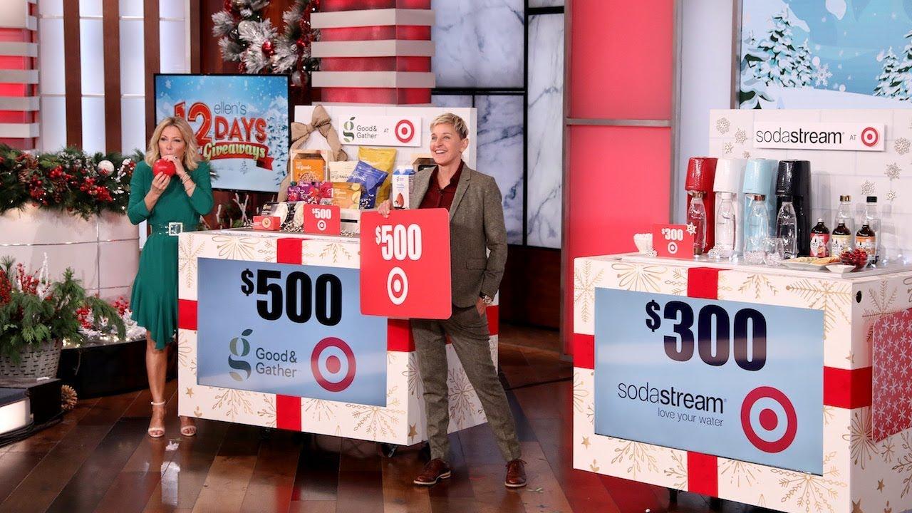 Ellen Degeneres 12 Days Of Christmas 2020 Cal Poly SLO grad shoe company seen on Ellen TV show | San Luis