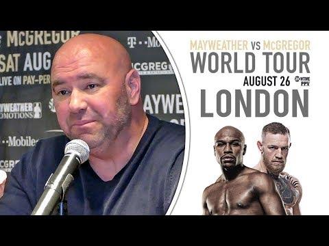Dana White | Mayweather vs McGregor | LONDON PRESS CONFERENCE