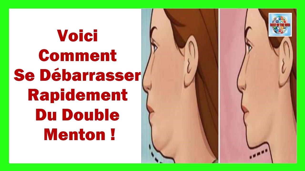 Très Voici Comment Se Débarrasser Rapidement Du Double Menton - YouTube NC96