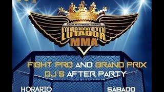 Promo DJ's After Party 18 Marzo 2017 Gran Prix & Fights Pro Lutador 2017