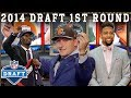 Manziel Mania, 9 Straight Pro Bowlers Picked, & More!   2014 NFL Draft 1st Round
