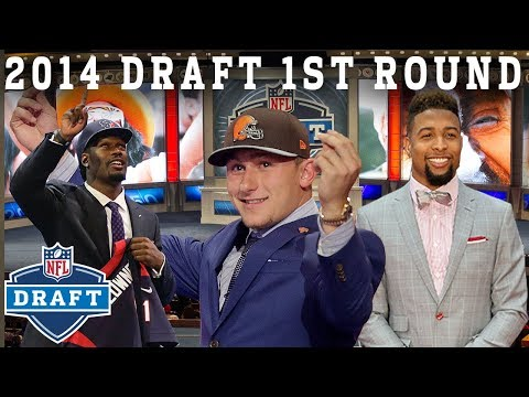 Manziel Mania 9 Straight Pro Bowlers Picked & More   NFL Draft 1st Round
