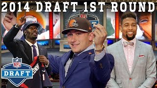 Manziel Mania, 9 Straight Pro Bowlers Picked, & More! | 2014 NFL Draft 1st Round thumbnail