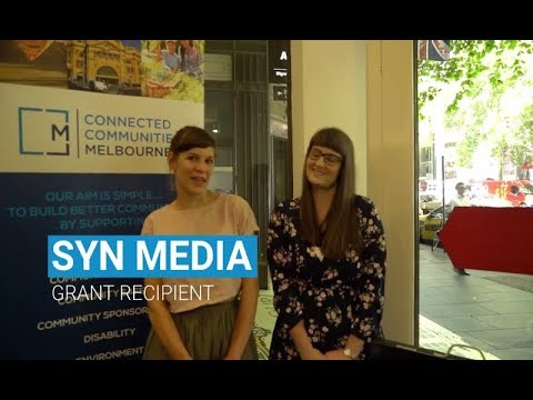 Connected Communities Melbourne | Supporting SYN Media
