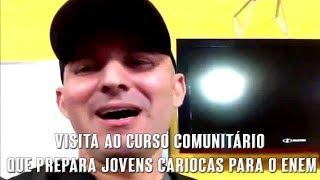 Erasmo Gomes - Visita ao curso comunitário que prepara jovens cariocas para o Enem