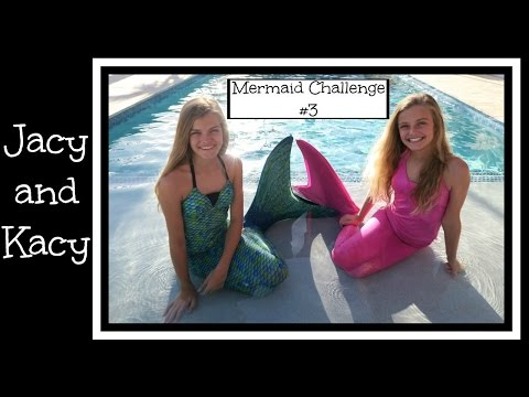 Thumbnail: Mermaid Challenge #3 ~ Jacy and Kacy
