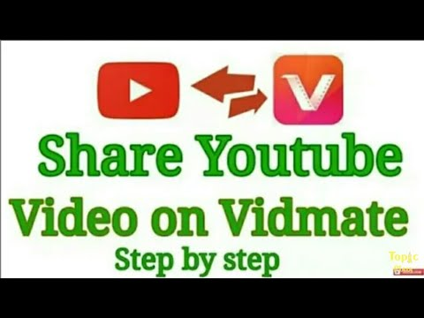 How To Upload Video On Vidmate || Upload...