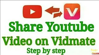 How To Upload Video On Vidmate || Upload Youtube Video On Vidmate