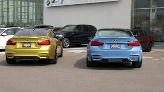 BMW M Performance Exhaust vs. Stock Exhaust