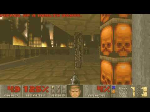 Doom II Hell on Earth Map18 Pacifist in 21s by Ocelot