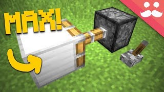 Minecraft.. But with Pistons that ONLY PUSH 1 BLOCK!