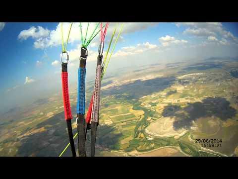 Kırkız tepe. İlk mesafe uçuş videosu. 31 km.