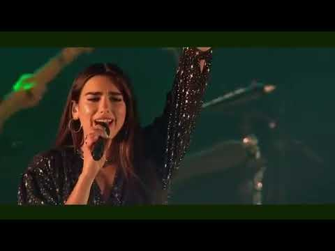 "Dua Lipa Performs ""Scared To Be Lonely"" At BBC RADIO 1"