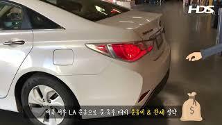 현대 쏘나타 미국에서 한국으로 귀국차량운송