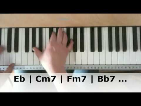 Chord Progressions Explained On The Piano Youtube