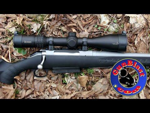 Ruger American Magnum Rifle & Burris Veracity Scope Giveaway - Gunblast.com