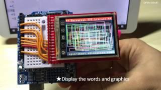 OPEN SMART 2.0 INCH Breakout Board for Arduino