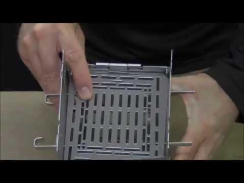 Adjustable Fire Grate / Extended Grill Plate / Trangia Position