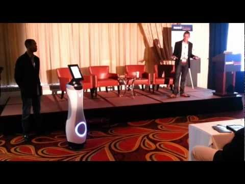 Launch of Bossa Nova Robotics mObi ballbot platform at RoboBusiness 2012