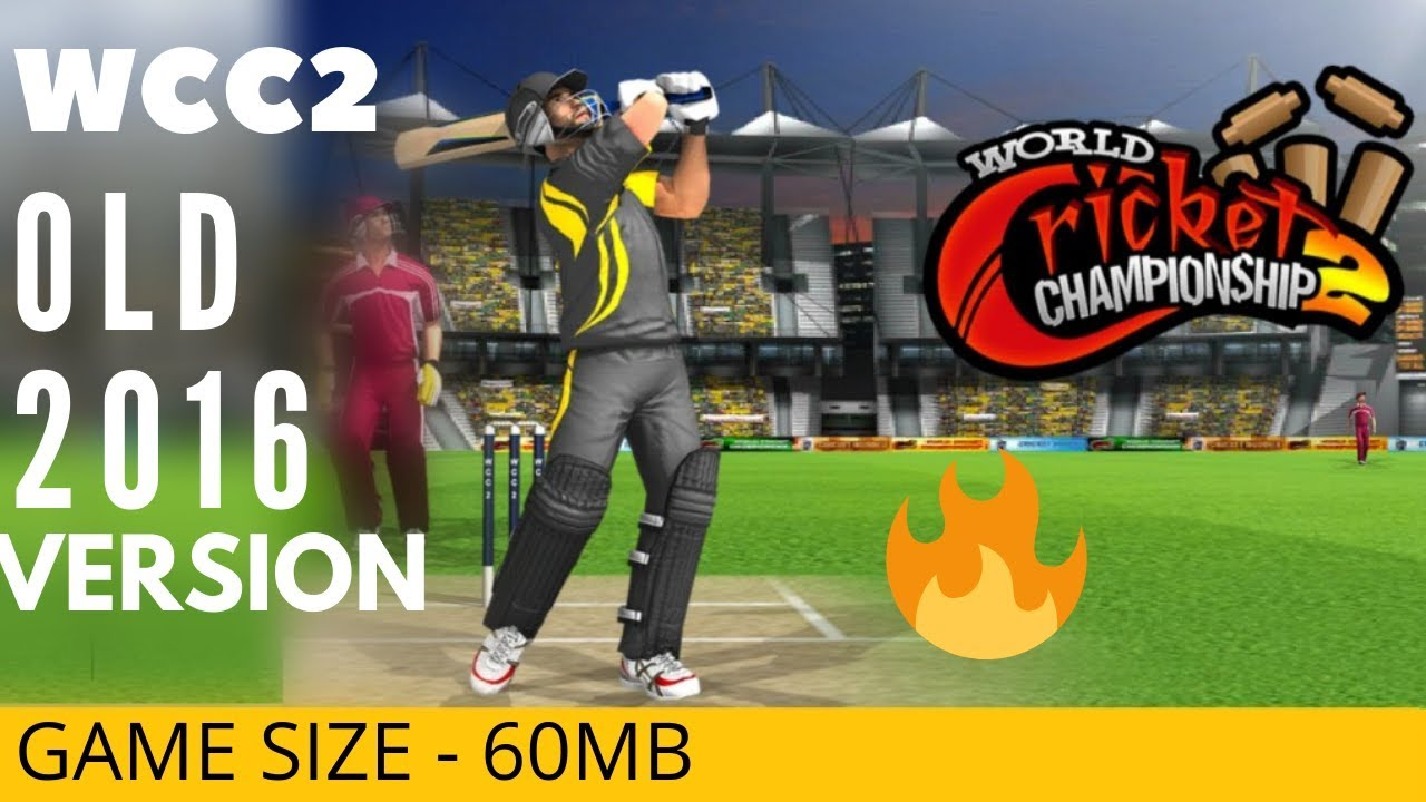 🔥 WCC2 Download old 2016 version | Game size only 60MB #1