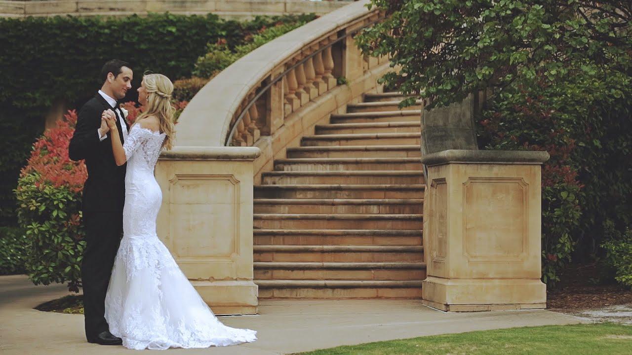 Gaillardia Country Club + Crossings Community Church OKC wedding film  {groom cries}