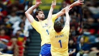 【バレーボール】バレーボールの歴史の中で最も壮観なデュオ| Bruno Rezende & Lucas Saatkamp (HD)