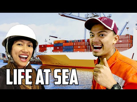 Cargo Ship Tour: Life At Sea As A Marine Engineer | Travel Vlog