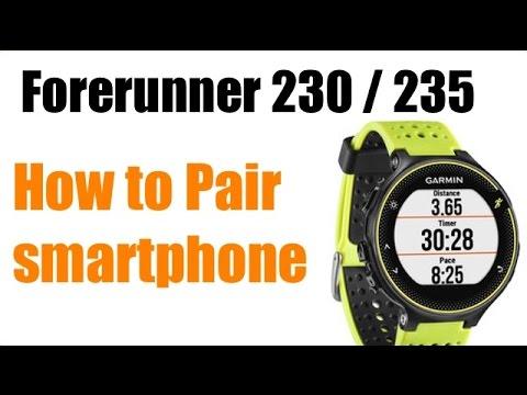 Garmin Forerunner 230 and Forerunner 235 How To Tutorials | Avoiding