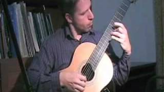 """Beautiful Blue Danube"" - Classical Guitar - www.elearnguitar.com"