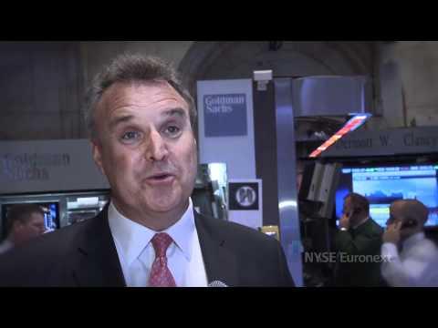 Revett Minerals rings the NYSE Closing Bell