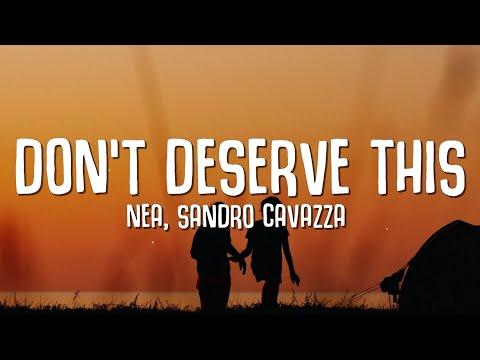 Nea, Sandro Cavazza - Don't Deserve This (Lyrics) Animal Elektric Remix