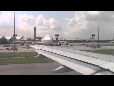 Thai Cargo 747-400 and Orient Thai 747-400 at BKK