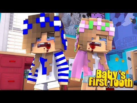 THE TOOTH FAIRY VISITS LITTLE CARLY AFTER LOSING HER FIRST TOOTH! (Minecraft Roleplay).