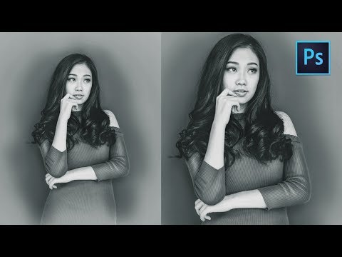 [ Photoshop Tutorial ] B&W Effect in Photoshop CC thumbnail