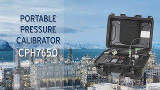 WIKA - Portable Pressure Calibrator CPH7650
