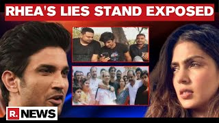 Sushant's Case: Rhea's Attempt To Slander Late Actor's Family Fails; Video Accessed