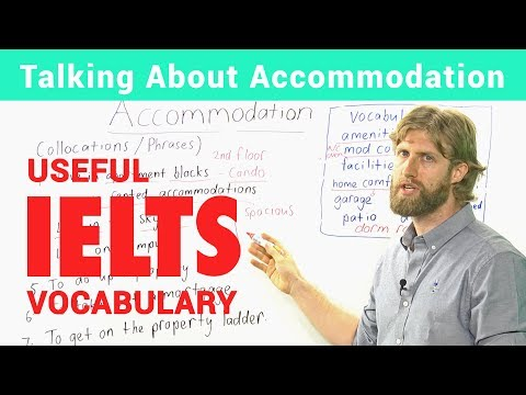 IELTS Speaking Vocabulary - Talking about accommodation