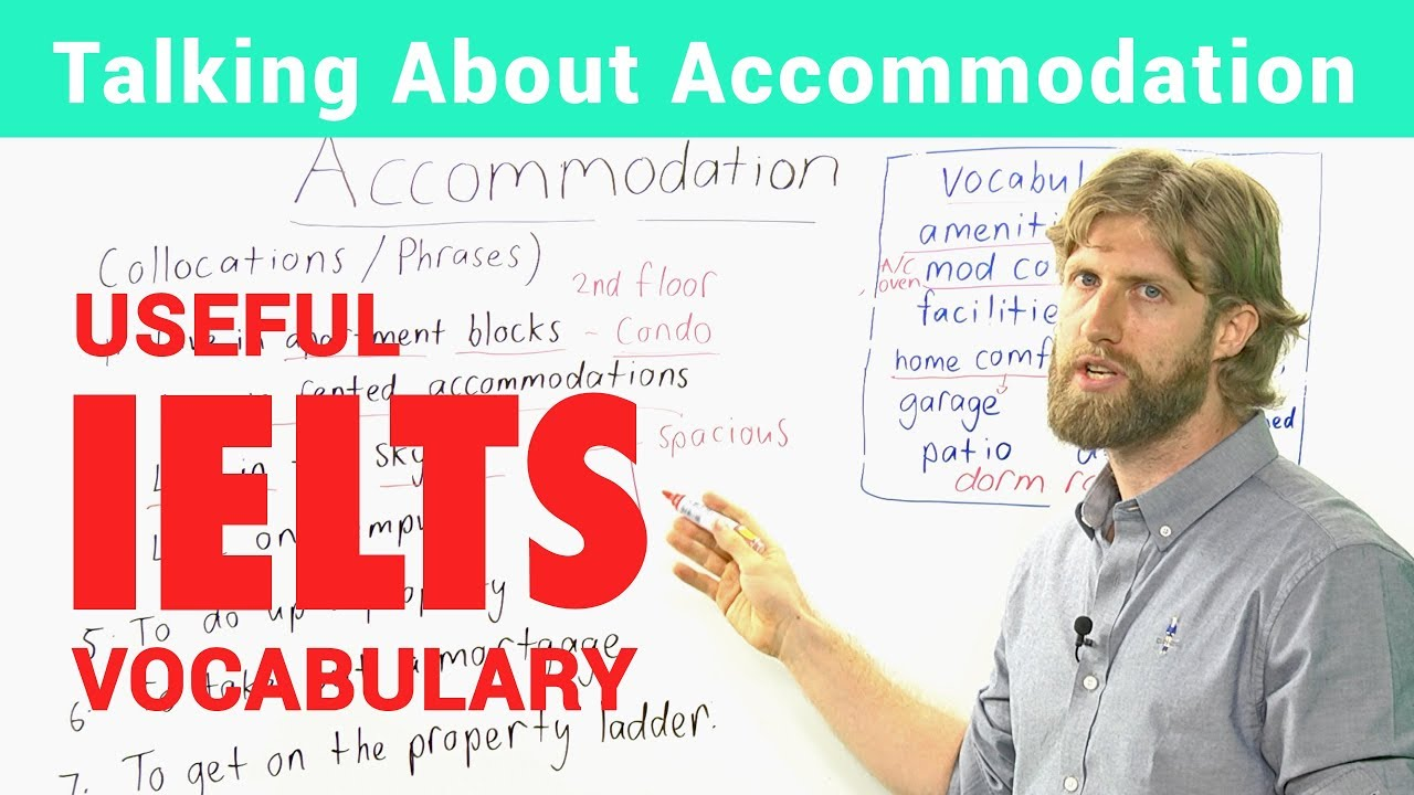 IELTS Speaking Vocabulary – Talking about accommodation