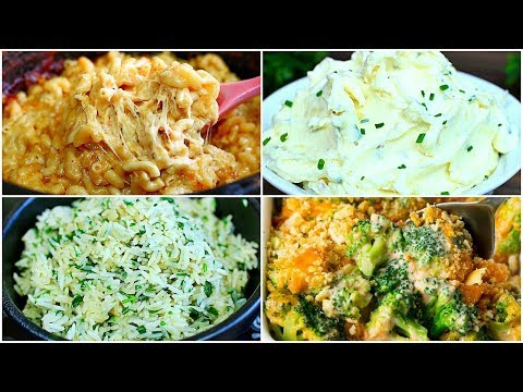 5 Thanksgiving Side Dishes - Easy Side Dishes For Thanksgiving