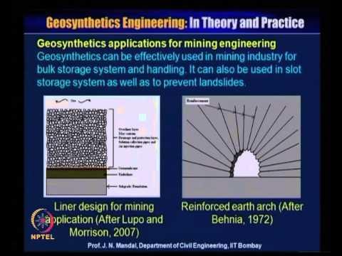 NPTEL :: Civil Engineering - Geosynthetics Engineering: In