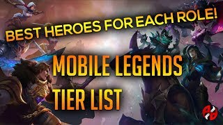 WHO ARE THE BEST HEROES IN MOBILE LEGENDS? MOBILE LEGENDS TIER LIST! | MOBILE LEGENDS