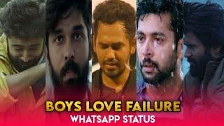 Boys love whatsapp status 💔 Alone status 😔 love pain ♥️ mashup status