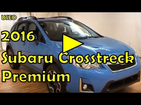 2016 Subaru Crosstrek Premium MEDIA SCREEN MOONROOF REAR CAMERA #Carvision