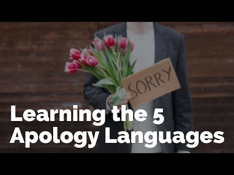Learning the 5 Apology Languages