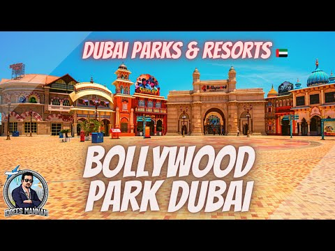 Bollywood Park I Dubai Parks & Resorts I March 2021 I Idrees Mannan I VLog # 15