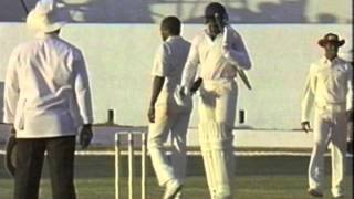 Cricket: West Indies vs England (24th February to the 1st March 1990)